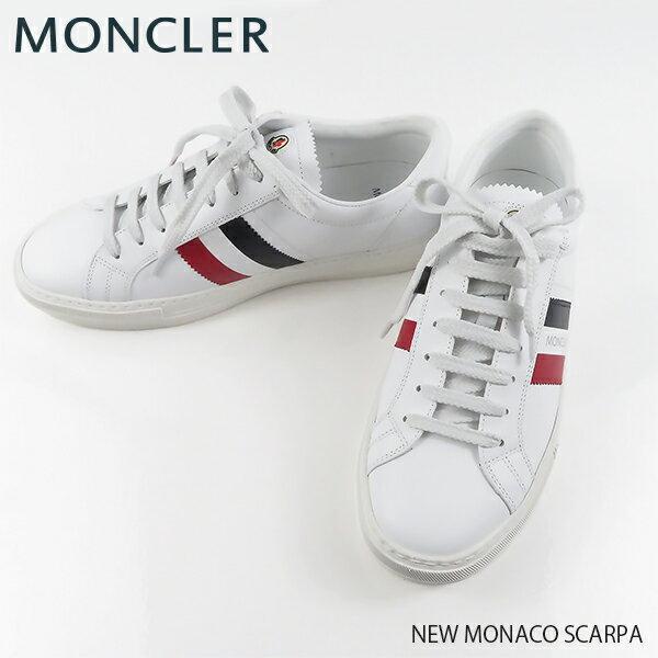 【送料無料】【2019SS】【並行輸入品】『MONCLER-モンクレール-』NEW MONACO SCARPA ローカット メンズ スニーカー ニュー モナコ スカルパ トリコロールカラー[10376 00 01A9A]