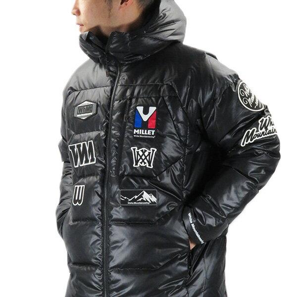 メンズファッション, コート・ジャケット 1500OFF 627White Mountaineering MILLETWM Down Jacket WM1973230A