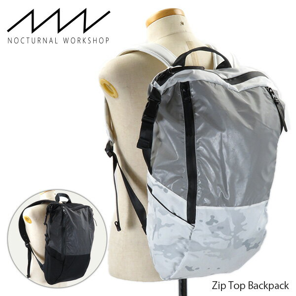 メンズバッグ, バックパック・リュック 1000OFF NOCTURNAL WORKSHOP Zip Top Backpack