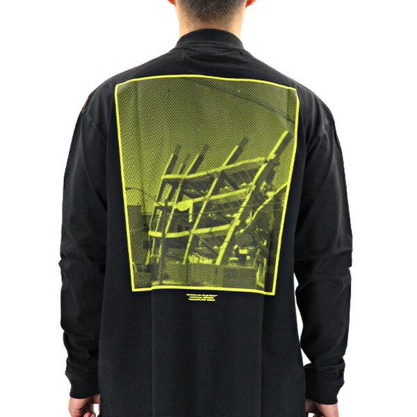 トップス, Tシャツ・カットソー 1000OFF 61613Off White HALFTONE OVER MOCK TEE T OMAB032E19185008