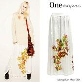 【one teaspoon-ワンティースプーン-】Mongolian Maxi Skirt[レディース・マキシスカート・ロングスカート]