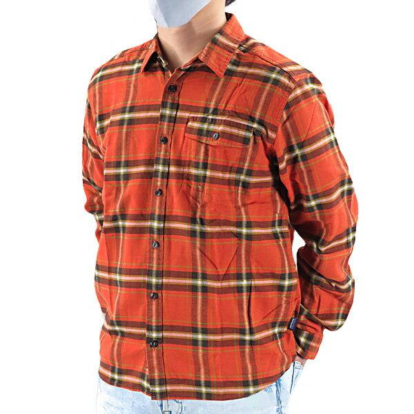 PatagoniaパタゴニアM'sLWFjordFlannelShirtメンズライトウェイトフィヨルドフランネルシャツチェック柄長袖メンズ54020LHEM