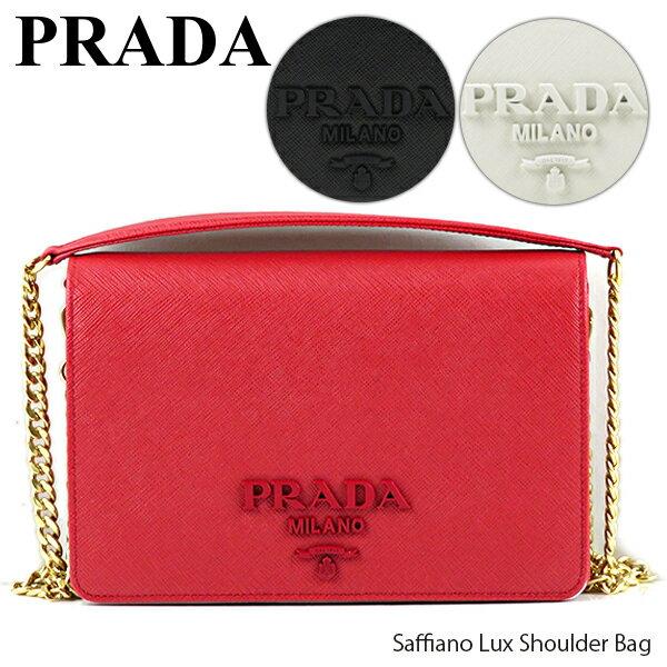 レディースバッグ, ショルダーバッグ・メッセンジャーバッグ PRADA Saffiano Lux Shoulder Bag 1BP012 NZV