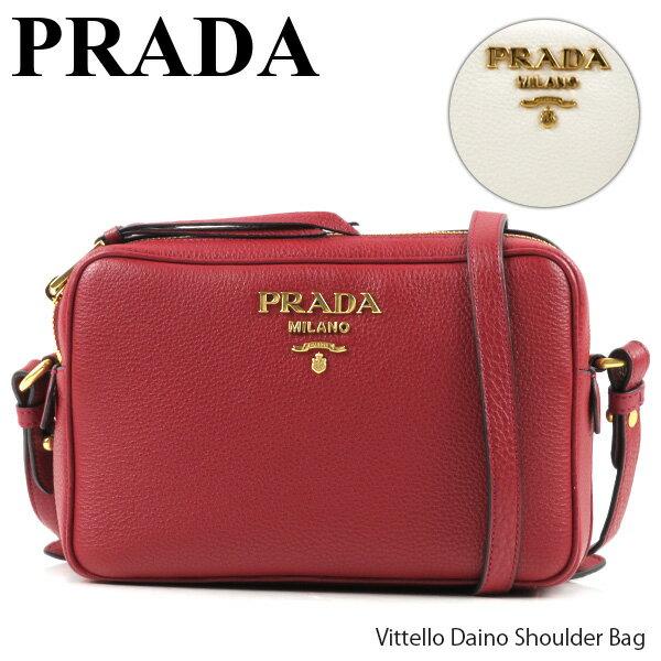 レディースバッグ, ショルダーバッグ・メッセンジャーバッグ 500OFFPRADA Vittello Daino Shoulder Bag 1BH082 2BBE