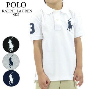 【ネコポス配送:1点まで】RALPH LAUREN ラルフローレン Big Pony Cotton Mesh Polo Shirt ビッグポニー コットン メッシュ 半袖 ポロシャツ ロゴ キッズ 子供 322-670257