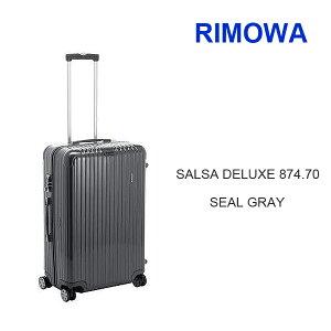 36%OFF!!【送料無料】【RIMOWA-リモワ-】SALSA DELUXE 874.70-サルサデラックススーツケース ...