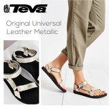 『TEVA-テバ-』Original Universal Leather Metallic [1007549]【キズ有り】[レディース スポーツ サンダル メタリック レザー]