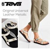 『TEVA-テバ-』Original Universal Leather Metallic [1007549][レディース スポーツ サンダル メタリック レザー]