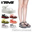 【送料無料】『TEVA-テバ-』Flatform Universal-フラットフォーム ユニバーサル-〔1008844〕[レディース サンダル スポーツサンダル ビーチサンダル 軽量ソール 厚底]