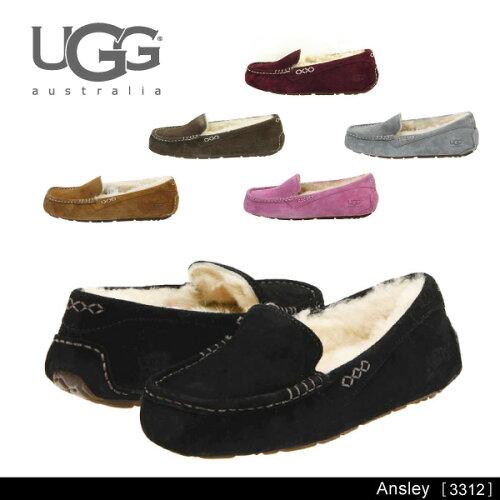 『UGG-アグ-』Ansley-アンスリー ムートン モカシン-[3312][ムートン ス...