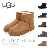 【送料無料】【2016 AW】『UGG-アグ-』Classic Mini 2-クラシック ミニ ムートンブーツ-[1016222][撥水加工 アグ オーストラリア レディース シープスキン]