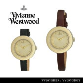 【送料無料】『Vivienne Westwood-ヴィヴィアンウエストウッド-』腕時計 [VV097][レディース ブラウン グレー レザー 腕時計 ウォッチ ]