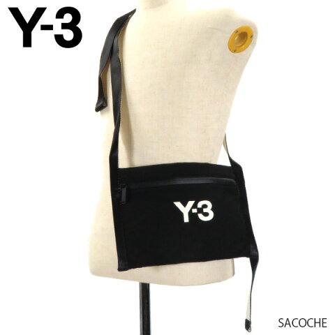 Y-3 ワイスリー SACOCHE サコッシュ ナイロン 鞄 ショルダーバッグ メンズ レディース ユニセックス GK2105 Black White