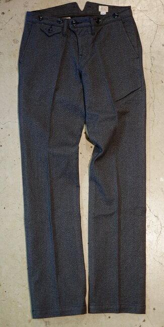 【smtb-tk】ORGUEIL(オルゲイユ)【OR-1002 CLASSIC Low Waist Trousers】クラシックロウウエストトラウザーバックウエストバンド部分にV型の切れ目が入っている仕様バックシンチ・ボタンフライ・サスペンダーボタンMADE IN JAPAN