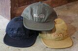 BLUCO(ブルコ)【OL-226-020】【6PANEL CAP -bluco-】オリジナルボディ パイルスベリ 刺繍入り フリーサイズ