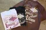Langlitz Leathers ラングリッツ レザーズ【LL290】プリントTシャツ フロントプリント バックプリント丸胴ヘビーウェイトボディ MADE in U.S.A.