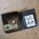 """送料無料!Langlitz Leathers(ラングリッツレザーズ)【Soft Wallet""""HORSE HIDE""""】≪ソフトウォレット """"ホースハイド""""≫BRASSボタン馬革 ミニウォレット 財布"""