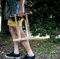 LUMBERJACKSCHAIRランバージャックスチェアフォールディングチェア木製アウトドアチェアソロチェアアウトドアキャンプフェス折り畳み