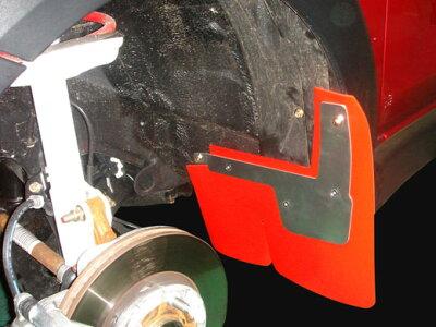 タイヤの蹴石を受け止めボディーやサスペンションを守ります。ARP SPORT マッドフラップ ニッサ...