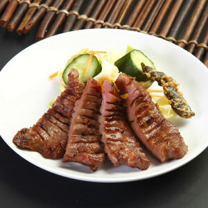 仙台でしか味わえない、歴史と伝統の味。たんや善治郎の特選牛タンセットです。【送料無料】宮...