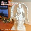 幸せの天使エンジェル像天使エンジェルangel置き物オブジェ彫刻レイクサイドクリスマスLakesideChristmasお祝い記念日プレゼントギフト75797-white