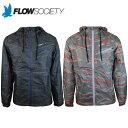 メンズ ウインドブレーカー ジャケット ランニング ジョギング ウェア スポーツ フィットネス ファッション 暖か 防風 軽量 フローソサエティー