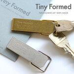 TinyFormed(タイニーフォームド)Tinymetalkeyclipキーホルダー日本製カラビナ鍵は見せるものではなく隠しておくもの。痒いところに手が届くデザイン☆ゴールドロックシルバーフック鍵収納真鍮ブラスメンズプレゼント贈り物ギフト