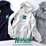 nakotaナコタboxlogohoodieparkaロゴフーデッドスウェットプルオーバーパーカー12.0オンス
