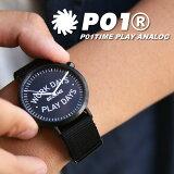 PLAYDESIGN(プレイデザイン)P01TIMEWDBPDANALOGプレイアナログ腕時計時計小物メンズレディース