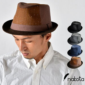 nakota ナコタ コンビネーションハット Combination Hat 帽子 中折れ カジュアル フォーマル ゴルフ メンズ レディース