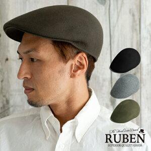 RUBEN ルーベン フェルトハンチング 帽子 ハンチング帽 メンズ ウール 秋 冬 スポーツ ゴルフ