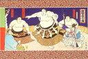【和風クリスマスカード】土俵入り5枚セット【メール便対応商品】