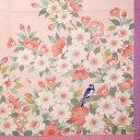 和ハンカチ 桜 ピンク はんかち レディース 刺繍 和雑貨 ホワイトデー バレンタイン ギフト お返し 日本製 さくら 春 【メール便対応商品】