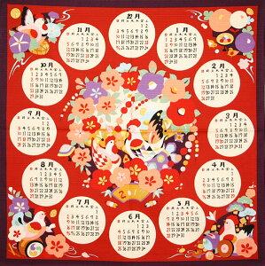 カレンダー インテリア 五穀豊穣