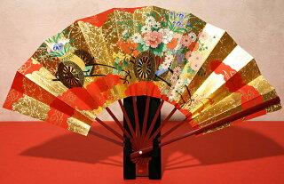 飾り扇子(大)花車