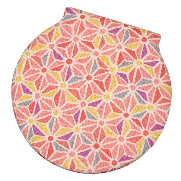 コンパクトミラー 丸手鏡 「豆麻の葉 桜」 手鏡 立て鏡 折りたたみ 小さい 可愛い 和風 和柄 日本製 【メール便対応商品】
