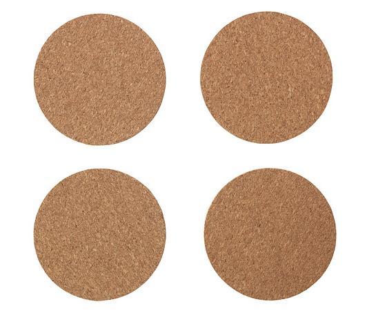 アーヴスキルド コルクコースター 4枚セット 【IKEA (イケア)】 702.816.57 (AVSKILD)