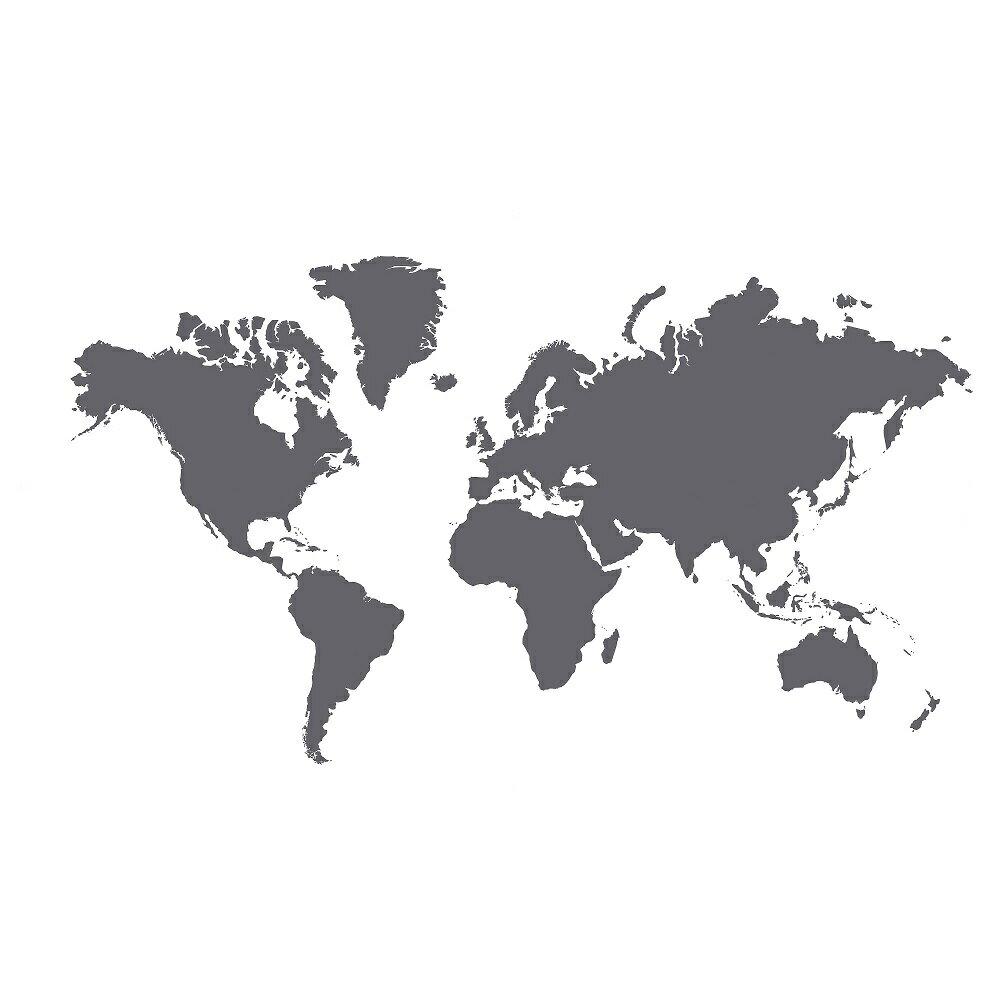 クレッタ デコレーションステッカー 黒板 世界地図 【IKEA (イケア)】 103.179.04 (KLATTA)の写真