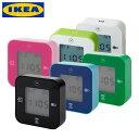 クロッキス 時計・温度計・アラーム・タイマー ホワイト 【IKEA (イケア)】 (KLOCKIS)