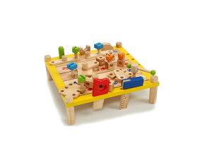 カーペンターテーブル アイムトイ ハンマー おもちゃ プレゼント クリスマス