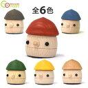 どんぐりころころ 【Comaam (おもちゃのこまーむ)】 日本 木製 安心/安全/日本の工房手仕上げ 手作り かわいい動き<1歳/2歳/3歳/4歳/5歳>プレゼント/クリスマス/出産祝い/ギフト/木のおもちゃ/どんぐりきのこ