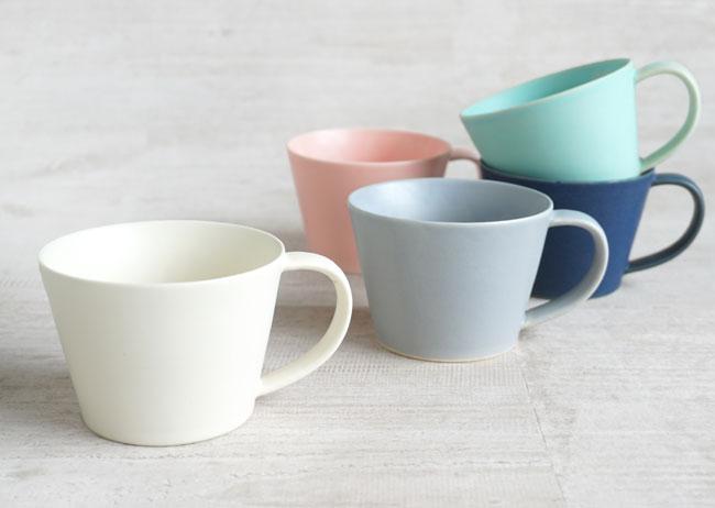 【作山窯-SAKUZAN-】SAKUZAN DAYS Sara Cup カップ コーヒーカップ マグカップ カフェ 磁器 日本製 陶器の写真