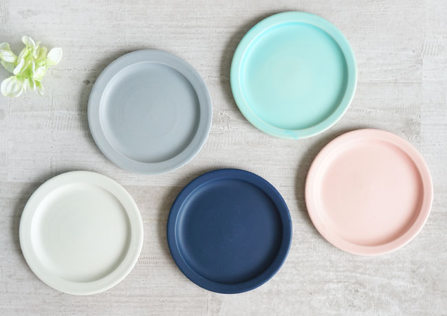 【作山窯-SAKUZAN-】SAKUZAN DAYS Sara Saucer サラ ソーサー お皿 14cm プレート 取り皿 小皿 カフェ 磁器 日本製 陶器画像