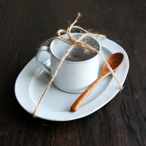 【Saveur】サヴール ストレートマグ マグカップ コップ 黒土 グレイ カフェ ロロ 日本製