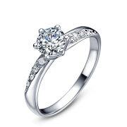 【送料無料】結婚指輪結婚記念日プレゼントリング婚約指輪S92518kPt3度コーティングSilver指輪シルバーリングプレゼントシルバーリング指輪