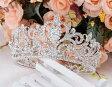 結婚式 ウェデイング ブライダルティアラ 二次会 パーティー クラウン お姫様クラウン 舞台演出 コーラス キュートな森の妖精クラウン ティアラ