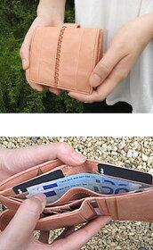 コンパクトウォレット(二つ折り財布)ヴェルジェシリーズ