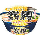 明星独自のスーパーノンフライ麺6箱まで送料500円 明星食品 究麺 濃厚豚塩 ×12個[ケース販売]