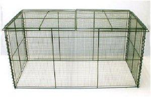 [屋外用] 折りたたみ式ゴミ箱ストッパー付1250[CS-25]...