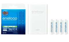 NEW-eneloop-サンヨーエネループ単3形エネループ4個付充電器セットN-TGN01AS [NTGN01AS] SANYO